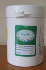 POLY-AID 80g - FOR SICK / INJURED BIRDS - Poly Aid - Birdcare Co.